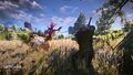 Tw3 e3 2014 screenshot - Geralt fighting a Noonwraith.jpg