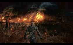 Tw3 screenshot burning village.jpg