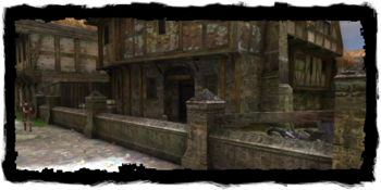 the Dwarven blacksmith's house