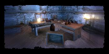 Καλκσταιν's workbench
