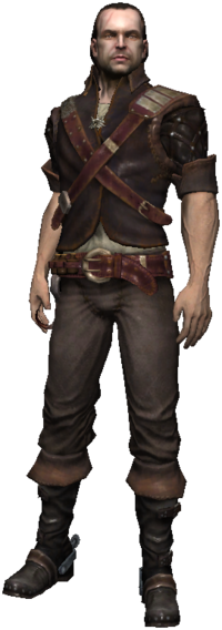 Lambert, a witcher