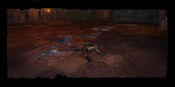 Raymond's dead body
