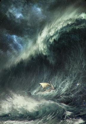 Tw3 cardart skellige special skellige storm.png