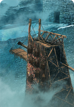 Tw3 cardart northernrealms siege tower.png