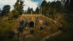 Elven ruins northwest of Byways
