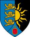 speculative coat of arms for Upper Sodden