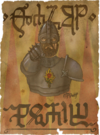 defaced Royal Temerian Guard recruiting poster