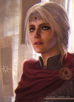 Queen Cirilla by shalizeh.jpg