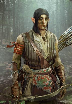 Tw3 cardart scoiatael elf skirmisher 1.png