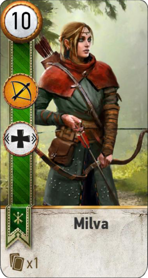 Tw3 gwent card face Milva.png