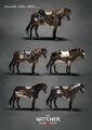 Tw3 concept art skellige horse armor by Marta Dettlaff.jpg