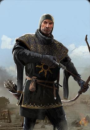 Tw3 cardart nilfgaard black archer.png