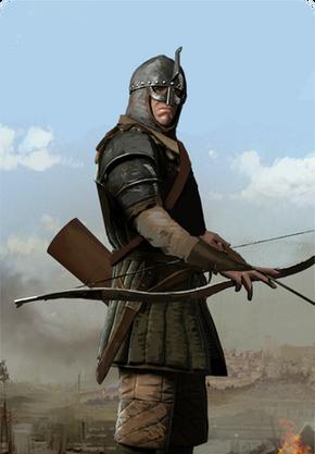 Tw3 cardart nilfgaard archer support.png