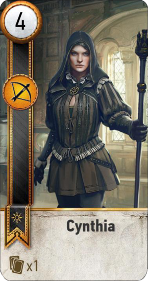 Tw3 gwent card face Cynthia.png