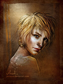 Mistle in a fan art by JustAnoR.
