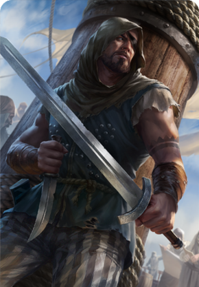 Tw3 cardart skellige clan dimun pirate.png