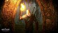 Tw3 wallpaper geralt exploring an underground crypt.jpg