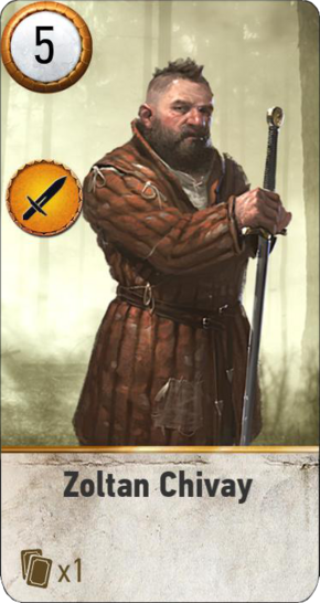 Tw3 gwent card face Zoltan Chivay.png