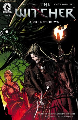 The Witcher Curse of Crows cover image Issue1.jpg