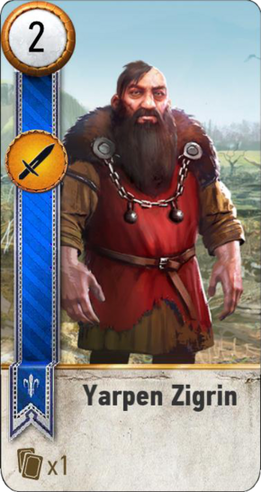 Tw3 gwent card face Yarpen Zigrin.png