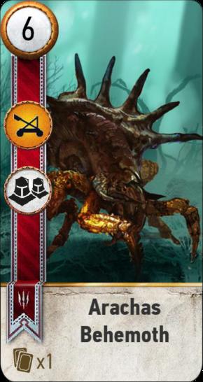 Tw3 gwent card face Arachas Behemoth.png