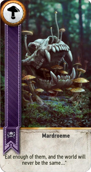 Tw3 gwent card face Mardroeme.png