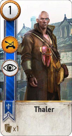 Tw3 gwent card face Thaler.png