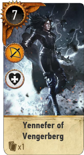 Tw3 gwent card face Yennefer of Vengerberg dlc.png