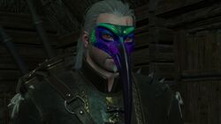 Tw3 geralt with bird mask.jpg