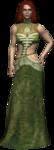 Triss Merigold, sorceress and Geralt's date