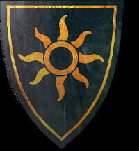 Nilfgaardian shield