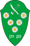 Speculative coat of arms for Dol Blathanna