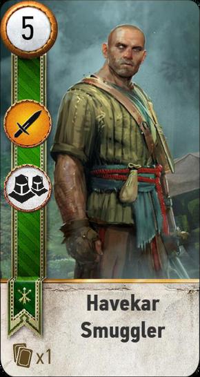 Tw3 gwent card face Havekar Smuggler 3.png