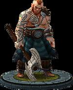 Vabjorn, Charaktermodell in TWBA