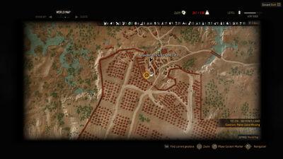 Witcher 3 Patrol Gone Missing location.jpg