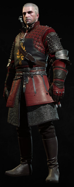 Armor and gauntlets with New Moon trousers and boots