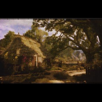 Capanna dell'erborista (dipinto)