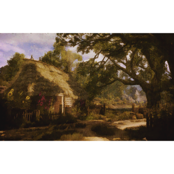 Hütte der Kräuterfrau (Bild)