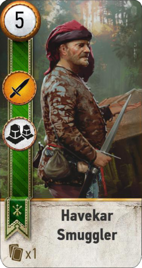 Tw3 gwent card face Havekar Smuggler 1.png