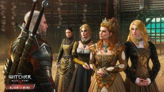 Anna Henrietta and her entourage