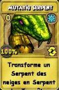 Mutatio serpent tempêtes