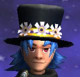 Chapeau pluie gardien palais h