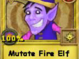 Mutate Lightning Elf Treasure Card