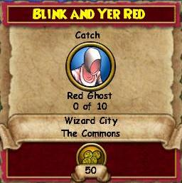 Blink and Yer Red
