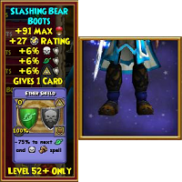 Slashing Bear Boots