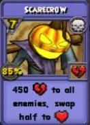 Scarecrow Item Card