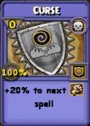 Curse Item Card