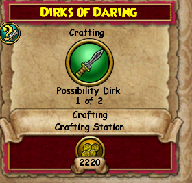 Dirks of Daring