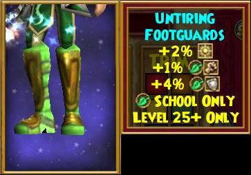 Untiring Footguards