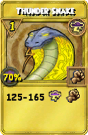 Thunder Snake Treasure Card